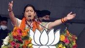 Will see Lotus bloom in West Bengal: Smriti Irani downplays TMC