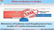 Fake: Govt is not giving Rs 1.2 lakh to employees who have worked between 1990-2021
