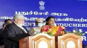 Telangana Governor Tamilisai Soundararajan sworn in as Puducherry Lt Governor