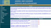 JKSSB Admit Card for SI recruitment exam released: Direct link to download