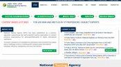 NEET 2021: Exam dates announced by NTA