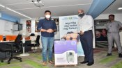 BJP MP Rajeev Chandrasekhar donates 15 oxygen concentrators to help 'Breathless India'