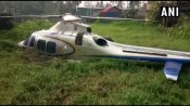 Chopper crash lands in Kerala