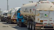 Gujarat: 7 oxygen tankers arrive at Mundra port from UAE