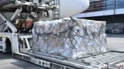 United States delivers six planes to india with emergency medical supplies to combat COVID-19 surge