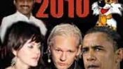 Scams, Obama, WikiLeaks & Yana make 2010 spicy