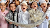 This Eid, Hindus, Muslims wear black bands to protest attacks on Muslims