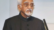 What was Hamid Ansari doing at a PFI event