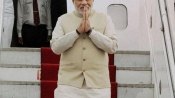 PM Narendra Modi leaves on 3-nation tour, in Sri Lanka on Mar 13-14