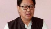Change in society's mindset key to women's safety: Kiren Rijiju