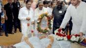 Rahul Gandhi on padayatra, meets and comforts distressed farmers