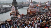 Hundreds clean Ganga 'ghats' in four states