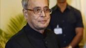 President Mukherjee praises 'vibrant' Gujarat for socio-economic development
