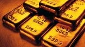 Gold up on weak US equities