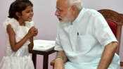 PM meets girl who had sought help for heart surgery in Pune