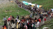 Amarnath yatra suspended due to inclement weather