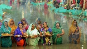 Photos: Chhath puja celebrated with great fervour
