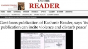Before NDTV India, Kashmir Reader faced ban and it's still on