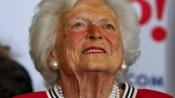 Former First Lady Barbara Bush hospitalized