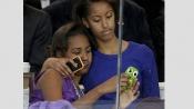 Bush twins write heartwarming open letter to Obama sisters