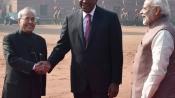 Pranab Mukherjee lauds economic development of Kenya