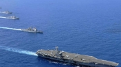 China launches first home-built aircraft carrier amid tensions