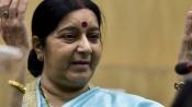 Mischief planted, says Sushma on Tharoor being asked to prepare Jadhav report