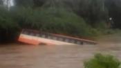 Karnataka: Villagers save passengers from sinking bus