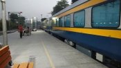 Not a plane, but a train: Tejas Express hits the tracks
