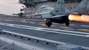 US Navy delighted over MiG-29K's performance in Malabar Naval exercise