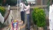 Telangana: Principal faces mob attack for wearing shoes during flag hoisting