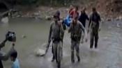 Chhattisgarh: CRPF personnel carry sick woman on stretcher for 7 km