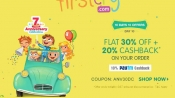7 Years Of FIRSTCRY! 'Cashback Toh Banta Hain' Upto 50% Off*