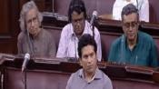 Uproar stalls Sachin Tendulkar's first speech at Rajya Sabha, house adjourned