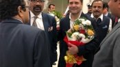 Rahul Gandhi arrives in Bahrain on first foreign visit as Congress president