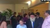 Baby Moshe, his grandparents visit Chabad House in Mumbai