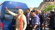 Modi in Oman: PM offers prayer at Shiva temple; visits Grand Mosque in Muscat