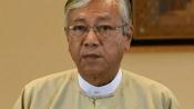 Myanmar President Htin Kyaw steps down