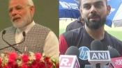 Modi accepts Virat Kohli's #FitnessChallenge