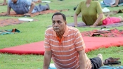 Yoga best cure for stress says Guj CM Rupani