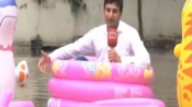 How this Pakistani journo in a bizarre way taught his Indian counterparts to report on waterlogging