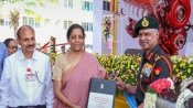 Nirmala Sitharaman hands over 'Made In India' engines to Indian Army