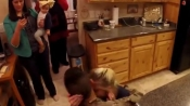 The best Thanksgiving this woman and her daughter had; watch!