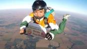 Indian skydiver Shital Mahajan jumps from 13,000 feet to wish Modi on his birthday