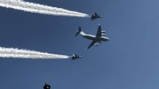 Republic Day Highlights: 90-minute iconic parade at Rajpath ends with a grand show of IAF's flypast