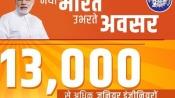 New Year Gift: Piyush Goyal announces 13000 jobs in Railways