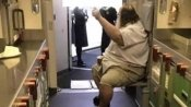 Not again! Man who made flight attendants wipe his butt books more tickets with same carrier