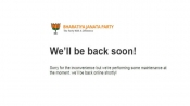 5 days after alleged hacking attempt, BJP's official website still under 'maintenance'