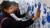 Kumbh attempts another Guinness record with 8000 handprints
