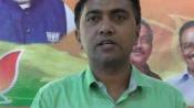 Pramod Sawant takes oath as Goa CM at 2 am ceremony, two allies get deputy CM post